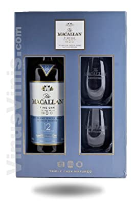 Macallan 12 Year Old / Fine Oak / 70cl / Gift Pack