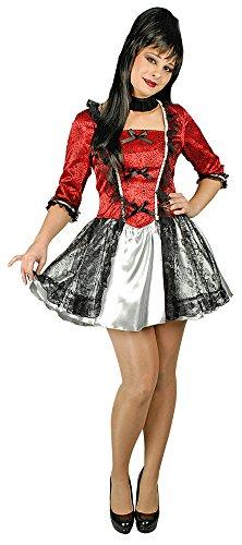 Vampir Kostüm Valeska für Damen - Hexen Halloween -
