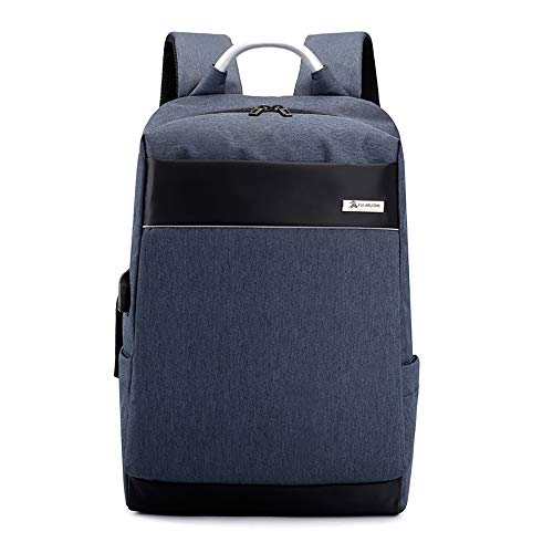 TLBAG Reise-Laptop-Rucksack mit USB-Anschluss, schlank Durable College School Computer-Bookbag für Frauen, Männer, Outdoor-Camping & Passend bis zu 15-Zoll-Notebook (Laptop-tasche Basic Amazon Dslr-und)