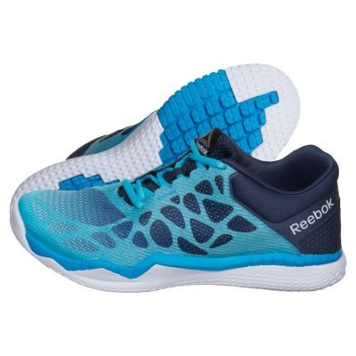 Reebok Zprint Train, Chaussures de Fitness Femme Bleu - Azul  (Crisp Blue / Collegnavy / Wildblue / White)