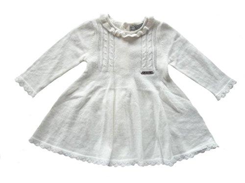 Strickkleid langarm für kleine Mädchen (86)