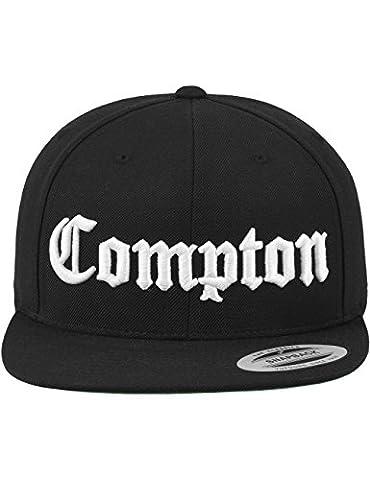 Mister Tee Mütze Compton Snapback, Black, One Size, MT271-00007-0050