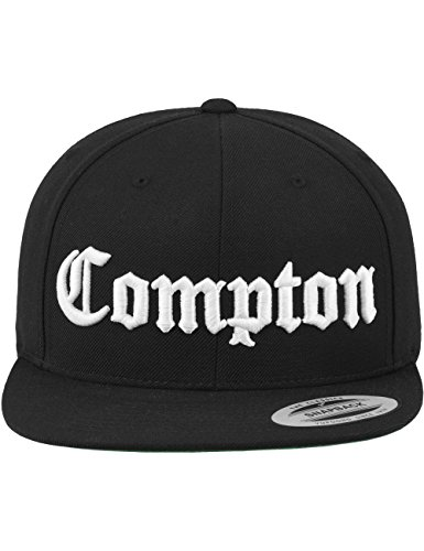 Mister Tee cappello Compton  Nero nero Taglia unica
