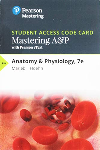 Mastering A&p With Pearson Etext Standalone Access Card: Includes Digital Download ()