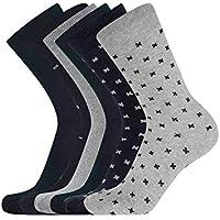 oodji Ultra Hombre Calcetines de Algodón (Pack de 6)