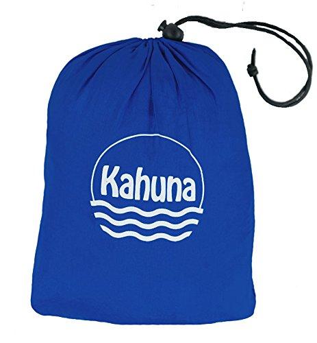 Kahuna Strandtuch aus Fallschirmseide – XXL 245 x 245 cm – die größte Stranddecke, Picknickdecke, Campingdecke erhältlich – tragbar, ultraleicht, schnell trocknend, mit 12 Sandtaschen - 5