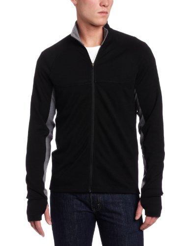 Ibex Herren Shak Lite Full Zip Jacket schwarz