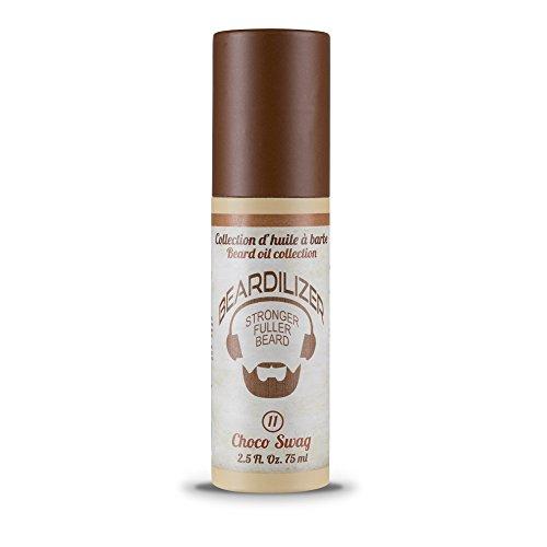 Beardilizer® Huile pour Barbe - Parfum Choco Swag - 75 ml
