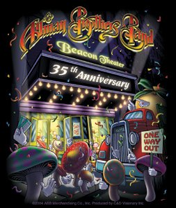 Allman Brothers Beacon Ann S-3290 Aufkleber Theater 35. (35 Beacon)