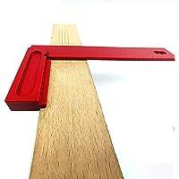 Asdomo - Abrazadera de ángulo recto para carpintería (200 mm, tipo L)