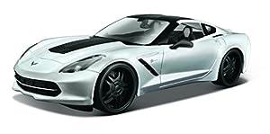 Maisto-2014 Corvette Stingray en Escala 1:24, colección Design Modern Muscle (32510)