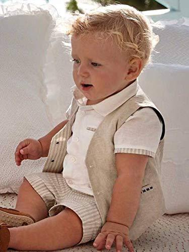 Mayoral, Chaleco para bebé niño - 1465, Beige 4