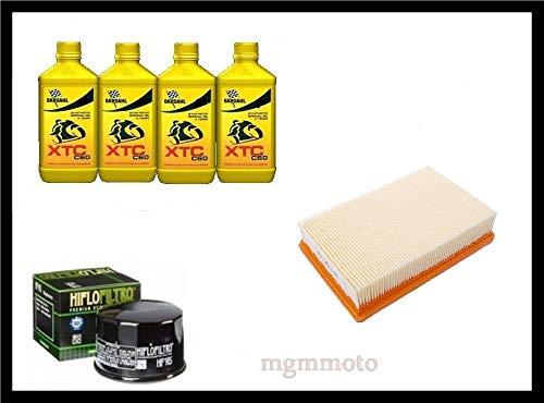 Kit tagliando olio bardahl 15w50 filtro olio aria B.M.W R1200GS LC 1200 2013