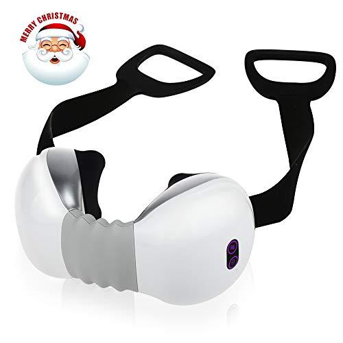 REAQER Shiatsu Masajeador de Cuello y Hombros Función de Calor Carga USB para aliviar el Dolor Muscular Relajación