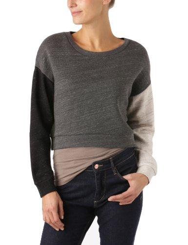 cheap-monday-camiseta-para-mujer-talla-36-color-charcol-black-beige