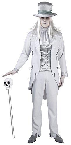 Geisterhafter Bräutigam -Kostüm für Herren - M