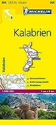 Michelin Kalabrien (MICHELIN Localkarten)
