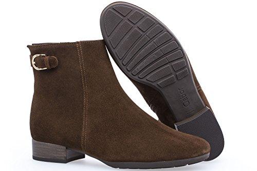 Opq7rnux Bottes Femme Marron chaussures Sport Comfort Gabor 4qHfX