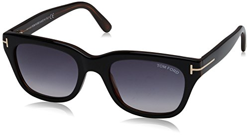 Diagonal eyewear ft0237, montature uomo, black/grey, 52