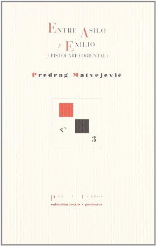 Descargar Libro Entre asilo y exilio (Textos y pretextos) de Predrag Matvejevic