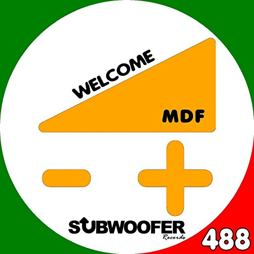 Welcome Mdf Subwoofer