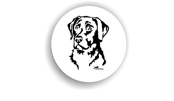 Amberdog Hunde Labrador Retriever Sticker Auto Aufkleber Art Stk0108 Autoaufkleber Aufkleber Wohnmobil Wohnwagen Küche Haushalt