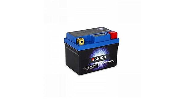 Shido Lithium Ionen Batterie Ytx7l Bs 12 Volt Shido Motorrad Batterie Lifepo4 Li Ytx7l Bs Passend Für Suzuki Rv 125 Van Van K9 Bt1111 Bj 2009 Preis Ist Inkl Batteriepfand Auto