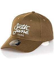 Sixth June - Casquette homme fashion kaki logo