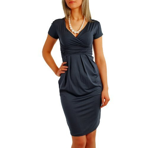 Fancy That Clothing - Robe -  Femme graphit grau