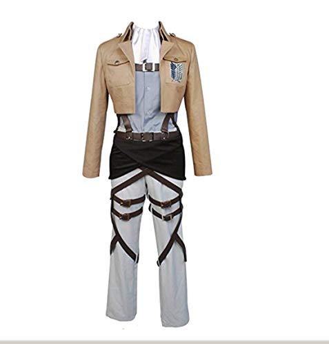 Kostüm Scouting Legion - Manfis Damen Shingeki no Kyojin Attack on Titan Scouting Legion Levil Cosplay Kostüm - Attack on Titan