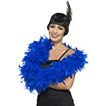 Fancy Dress Four Less Feather Boa - Disfraz de mujer de lujo, 50 g y 80
