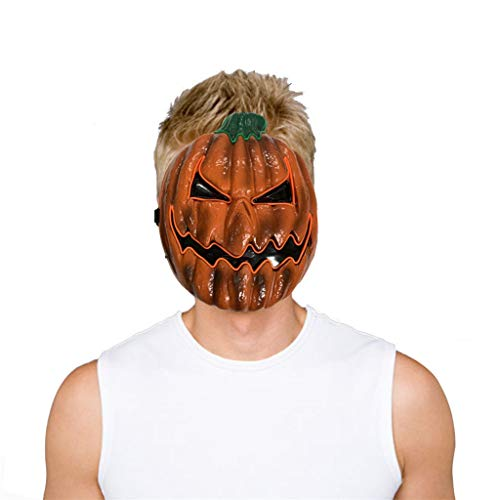 Sexy Light Up Kostüm - Innerternet Glowing Pumpkin Drift Maske Halloween