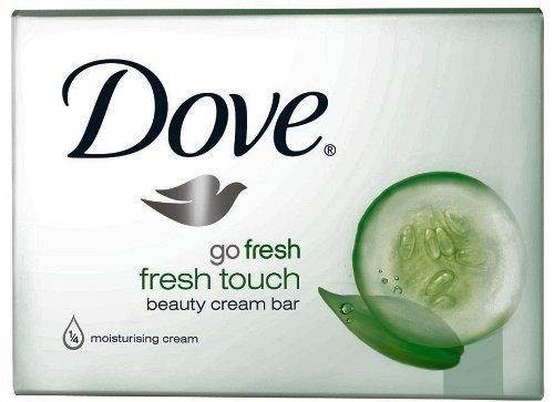 Dove Beauty Bar Soap Go Fresh Cool Moisture, Cucumber And Green Tea Scent, 4....