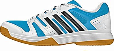 adidas Volley Ligra Cour Chaussures – SS15, Cwhite/Cblack/Solblu