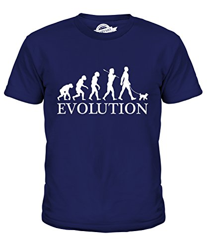 Candymix Toy Poodle Evolution Of Man Unisex Kids T Shirt Boys/Girls/Toddler/Children T-Shirt