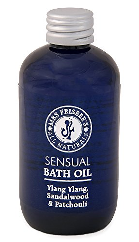 Sensual Bath Oil with Sandalwood, Patchouli & Ylang Ylang, 100ml