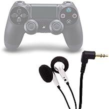 DURAGADGET Auriculares Minijack Para Playstation 4 / 3 - Blanco Y Negro