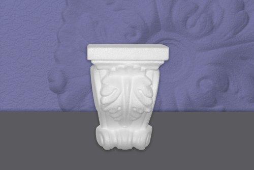 Preisvergleich Produktbild Decosa Konsole, weiß, 120 x 170 x 70 mm - SONDERPREIS 4 Stück