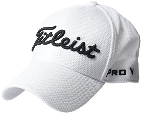 Titleist Players Deep Fit, Casquette de Baseball Homme, White (White, Th7Fdfea-10Sm), Taille Unique