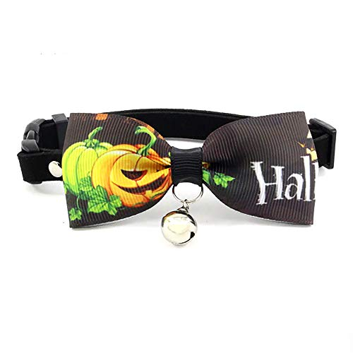 CYULING Small Dog Bow Ties, Cat Dog Bow Ties Halsband für Halloween Festival Dog Ties Hundezubehör,XS