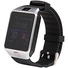 DZ09 reloj inteligente Bluetooth SmartWatch de Apple / Samsung / Android / Ios diferente Wearable reloj inteligente - SYN doble PK GT08 GV18 M26 Austec