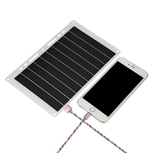 Descripción: Este cargador solar portátil está diseñado para un excelente rendimiento y portabilidad, que lo convierten en una solución perfecta para todo tipo de necesidades de energía portátil al aire libre. Ligero y portátil, adecuado para deporte...