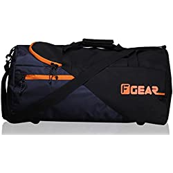F Gear EXplory Polyester 30 Ltrs Orange Travel Duffle (2323)