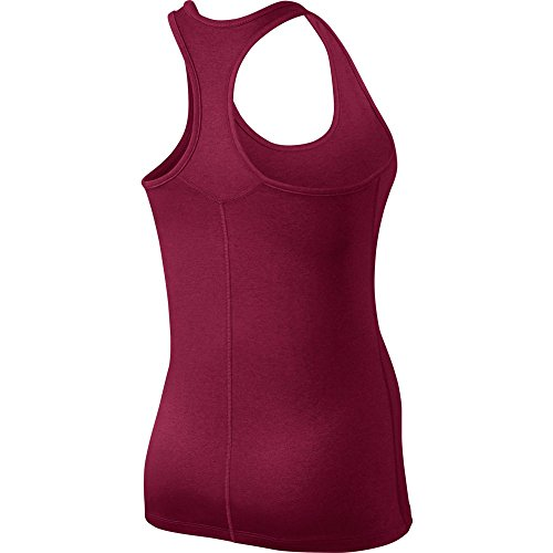 NIKE W NK Dry Damen ärmellos Tank Balance Top Rot (Noble Red / Noble Red)