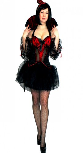 NFP Vampir Gothic Braut Dracula Kostüm Karneval Fasching -