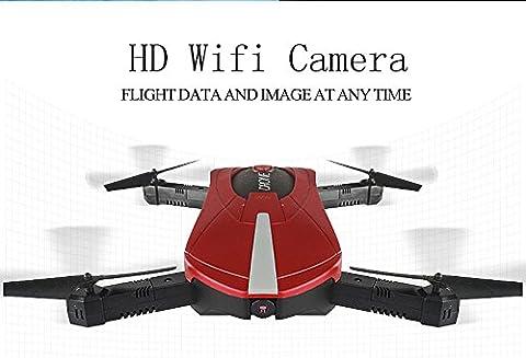 WiFi Selfie Pocket Mini Drone–PREMIUM QUALITÄT Version mit faltbar Arm & HD Kamera–Phone Kontrollierte