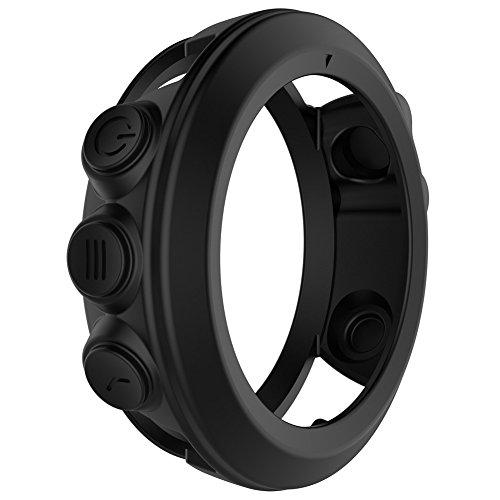 fenix 3 performer bundle Prom-near Silikon Schutzhülle Schutzhülle für Garmin Fenix 3 Fenix 3 HR Quatix 3 Smart Watch (Black)