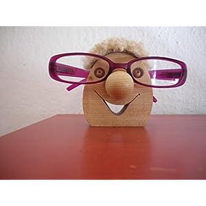 Brillenständer, Brillenhalter aus Holz, Brillenständer Holz, Brillenablage, brillennase, Brillenhalter selbstgemacht, brillenzubehör, Brillenhalterung, Brillenaufbewahrung, Oskar
