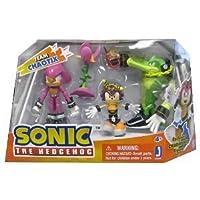 Team Chaotix (Vector, Espio, Charmy Bee + Accessories): Sonic The Hedgehog Mini- figure Set (parallel import)