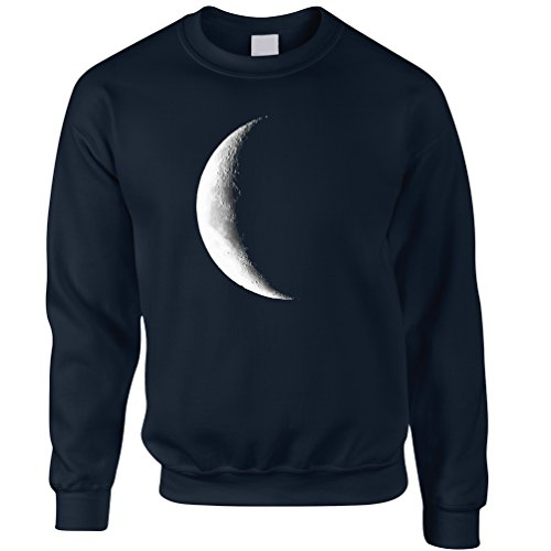 half-moon-galaxy-space-waning-crescent-phase-lunar-stars-astronomy-gift-sweatshirt-jumper-cool-funny